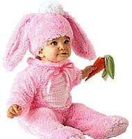 Rosa kanin drakt