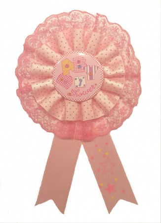 Rosa Baby Shower Button