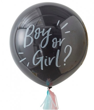 "Gigantisk ""Boy Or Girl?"" Ballong Kit"
