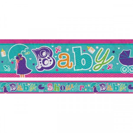 Baby Shower Foliebanner
