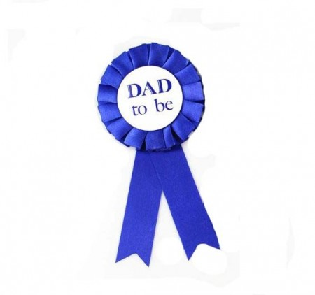 """Dad To Be"" Button"