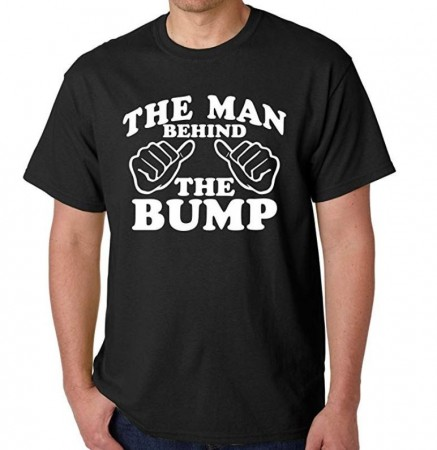"""The Man Behind The Bump"" T-skjorte"