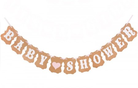 Baby Shower Hengende Banner