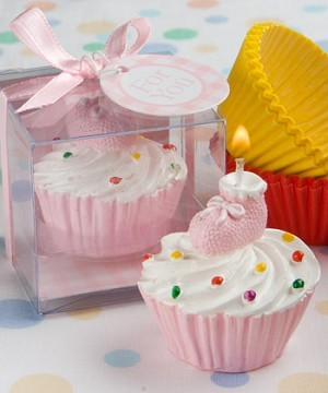 Cup Cake Lys Rosa