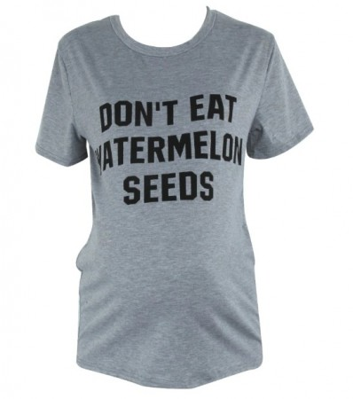 """Don´t Eat Watermelon Seeds"" T-skjorte"