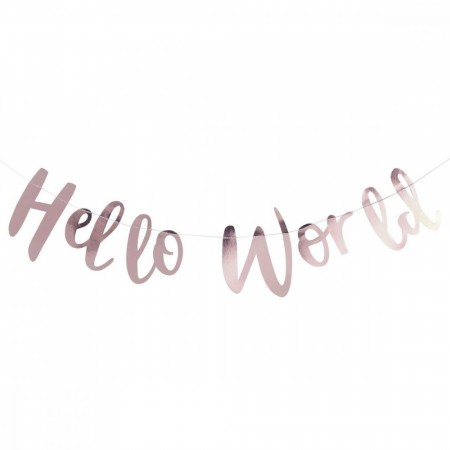 Hello World Banner