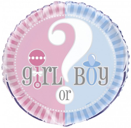 Girl Or Boy Folieballong