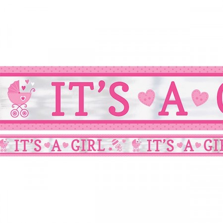 It´s A Girl Banner