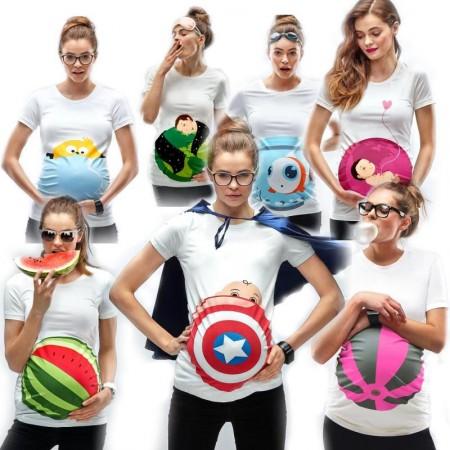 T-skjorter Til Babymagen