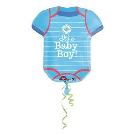 Stor It´s A Baby Boy Body Folieballong