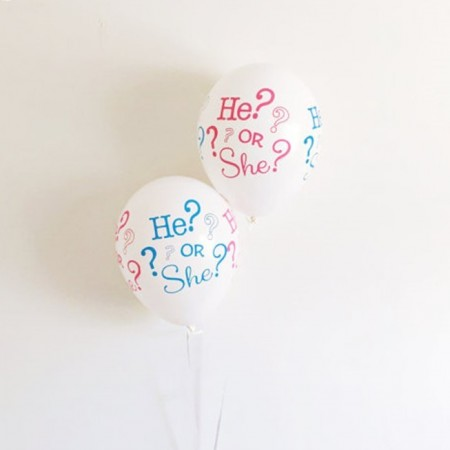 He Or She Latex Ballonger