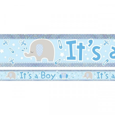It´s A Boy Elefant Banner