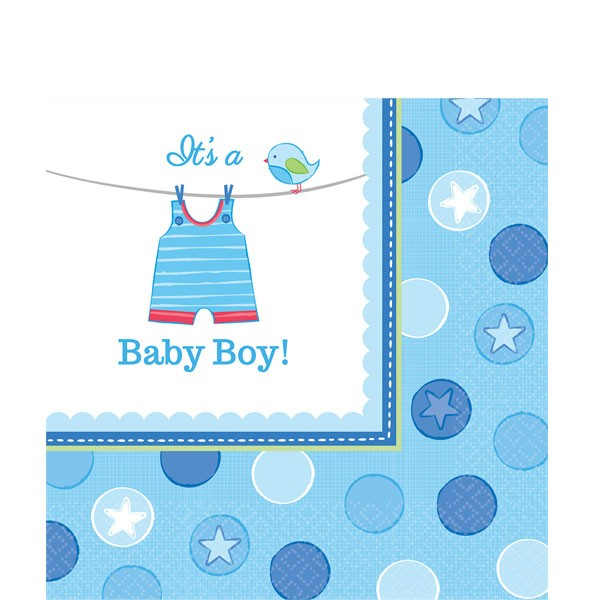 It´s A Baby Boy Servietter - Baby Shower