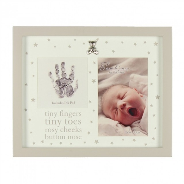 Tiny Fingers Ramme - Baby Shower og dåp