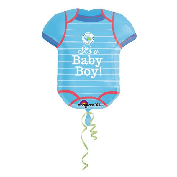 Stor It´s A Baby Boy Body Folieballong - Baby shower