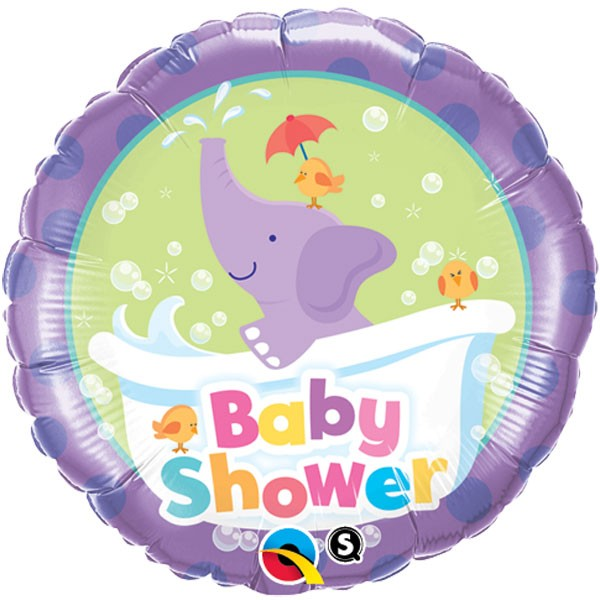 Elefant Baby Shower Folieballong - Ballonger til baby shower