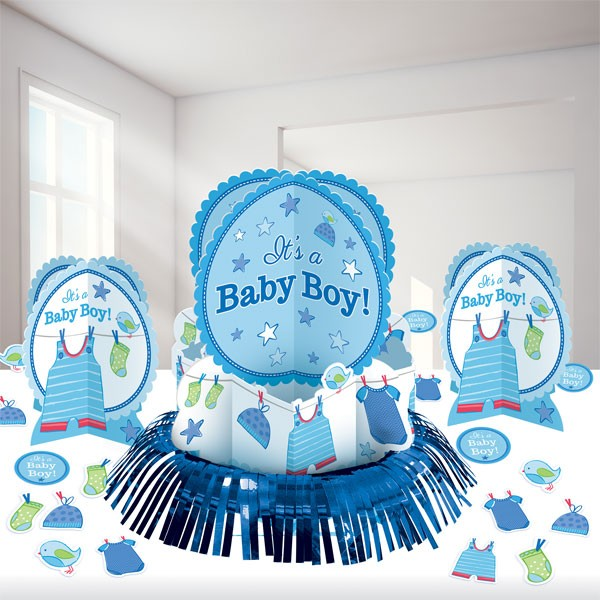 It´s A Baby Boy Borddekorasjon - Baby shower centrepiece