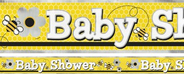 Baby Shower Bie Banner
